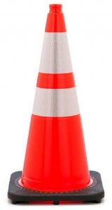 Approved Reflective Orange Traffic Cones
