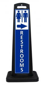 Portable Restrooms Sign