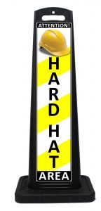 Portable Hard Hat Area Sign