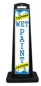 Portable Wet Paint Sign