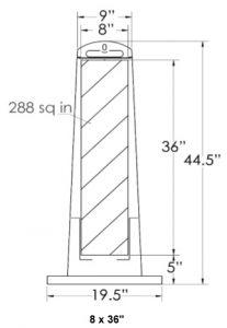 Vertical Panel Dimensions